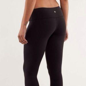 Lululemon Wunder Under Black Pants size 2